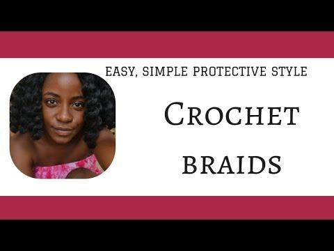 Crochet Braids (using Afro Kinky Twist Hair)
