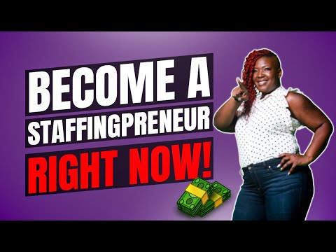 , title : 'How To Start A Temporary Staffing and Recruiting Agency Business - How to Become A Staffingpreneur!