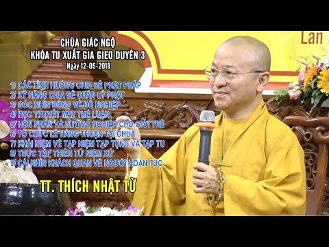Vấn đáp: Các tình huống chia sẻ Phật pháp, góc nhìn đúng về đổ nghiệp - TT. Thích Nhật Từ