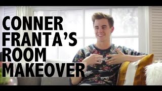Connor Franta: Room Makeover