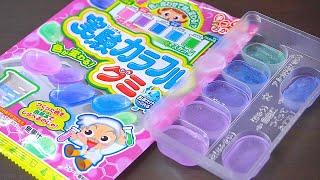 포핀쿠킨-실험 컬러풀 젤리 Popin Cookin Experiment Colorful Jelly [ASMR]