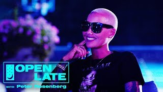 Open Late with Peter Rosenberg - Amber Rose Opens Her Home to Rosenberg + Trinidad James & Kodie Shane