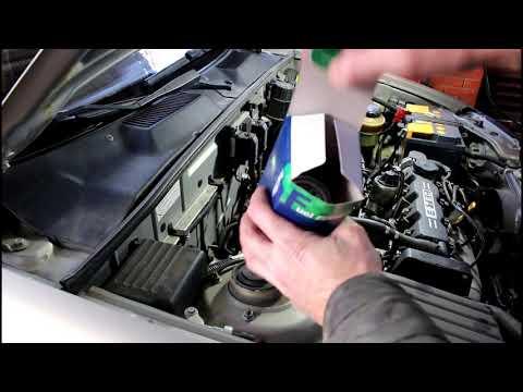 Замена топливного фильтра на Chevrolet Lanos Шевроле Ланос 2008 года
