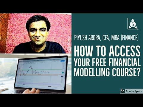 How to access your free financial modelling course? A step-by-step guide to get the free course