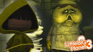 SACKBOY IS IN LITTLE NIGHTMARES! | LittleBIGPlanet 3 Gameplay (Playstation 4)