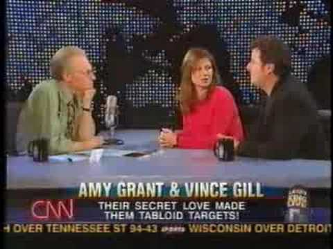 Amy Grant & Vince Gill on Larry King