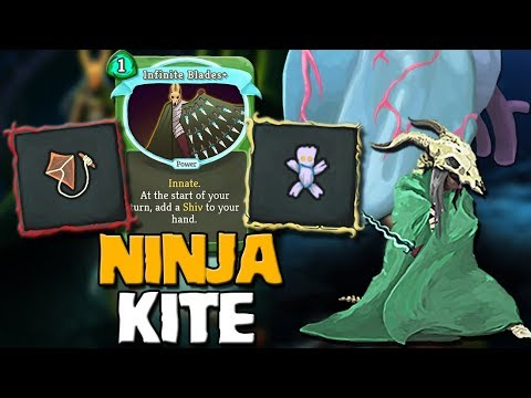 Slay The Spire - Ascension 20 Silent | Full Ninja Deck and a Kite