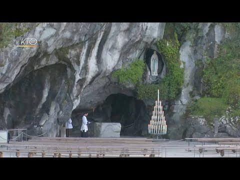Chapelet à Lourdes du 18 mars 2020