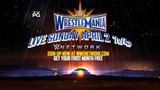 WrestleMania: Goldberg vs. Lesnar - Sunday, April 2