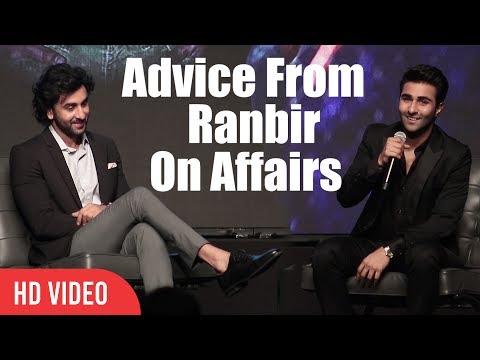 Advice From Ranbir Kapoor On Affairs In Bollywood | Aadar Jain