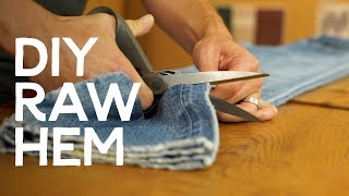 Vintage Denim: How to Cut it and Make it Your Own