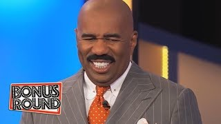 SURPRISE MOMENT ON Family Feud Puts A BIG SMILE On Steve Harvey