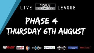 The MODUS ICONS OF DARTS LIVE LEAGUE - THURSDAY  6TH AUGUST