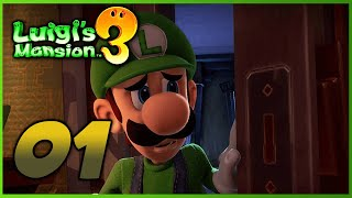 Luigi's Mansion 3 - Part 1 - Welcome to The Last Resort (Nintendo Switch)