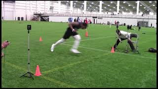 2021 National Scouting Combine WR Combine Testing