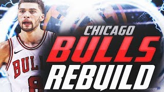 2019 BULLS OFFSEASON REBUILD! MOST STACKED TEAM EVER!! NBA 2K19