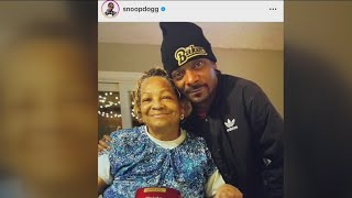 Snoop Dogg mourns the loss of his Angel mother...