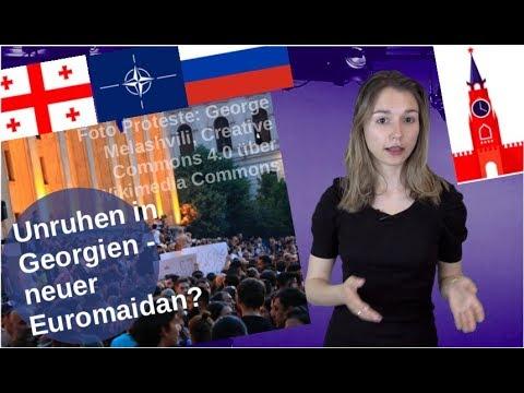 Unruhen in Georgien – neuer Euromaidan? [Video]