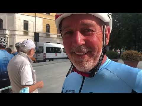 Rientrati a Legnano i ciclisti del Giro dei Campioni