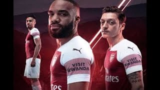 Rwanda takes it's tourism promotion a notch higher by partnering with Arsenal team