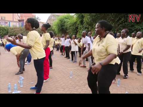FITNESS CAMPAIGN: Gender ministry PS leads staff on fitness drive