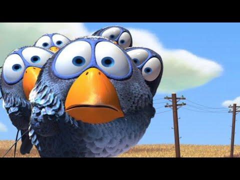 Перелётные птицы.Психическая атака на дрон.