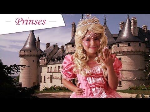 Prinses schminken voor carnaval
