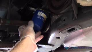 Engine Oil Change and Filter Saturn Vue