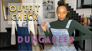 How Do You Style Dungarees? Outfit Check