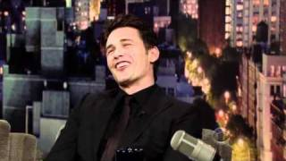 Джеймс Франко, James Franco - The Late Show with David Letterman