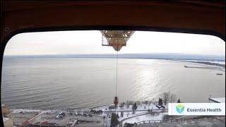Watch the video - Construction Minute: Tower Crane Operator - Essentia Health