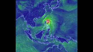 Мощнейший тайфун в Тихом океане. Тайфун Мангхут пришел на Филиппины.