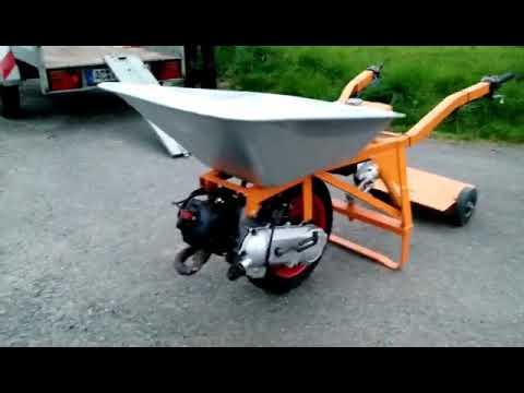Schubkarre mit Motor 70km/h