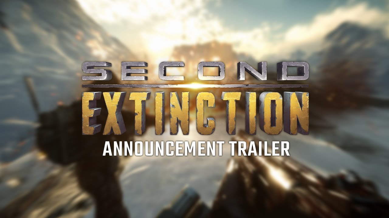 Трейлер игры Second Extinction