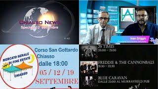 'Chiasso News Speciale concerti 12 settembre 2020' episoode image