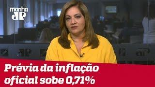 Denise: Prévia da inflação oficial sobe 0,71%