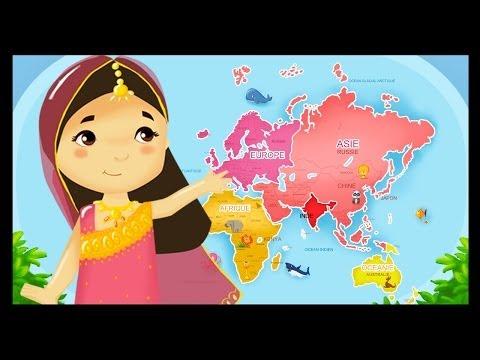 Les Pays du monde avec les Titounis