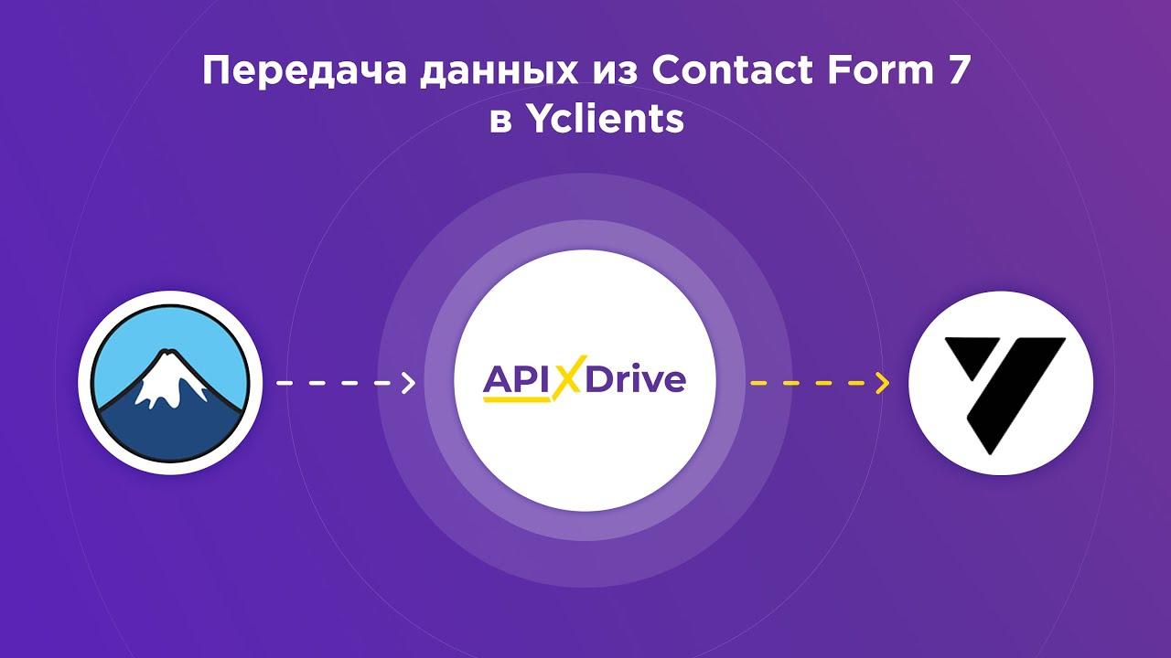 Как настроить выгрузку данных из ContactForm7 в Yclients?