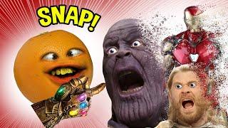 Annoying Orange VS the Marvel Universe!!