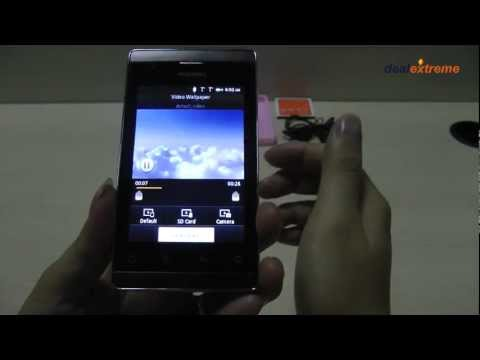 """A518 Android 2.3 GSM Bar Phone w/ 3.5"""" Capacitive Screen, Dual-Band, Wi-Fi-DX"""