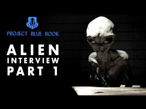 Alien Interview | Secrets of Universe Revealed | Project Blue Book