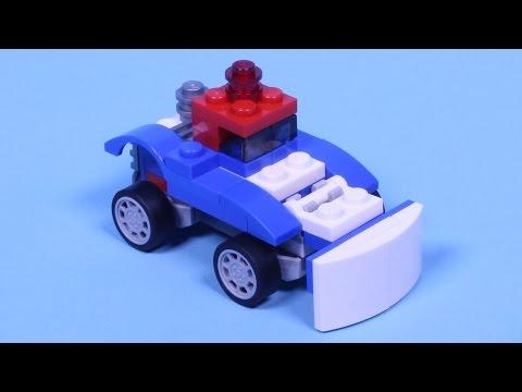 Vidéo LEGO Creator 31027 : Le bolide bleu