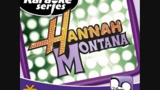 Hannah Montana- If We Were A Movie (Karaoke/Instrumental) OFFICIAL