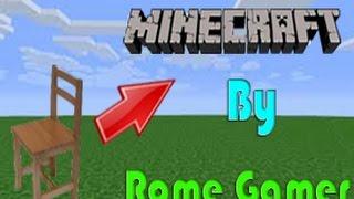 Rome Gamer Minecraft 18  วิธีทำเก้าอี้โดยไม่ใช้ Mod ใน Minecraft