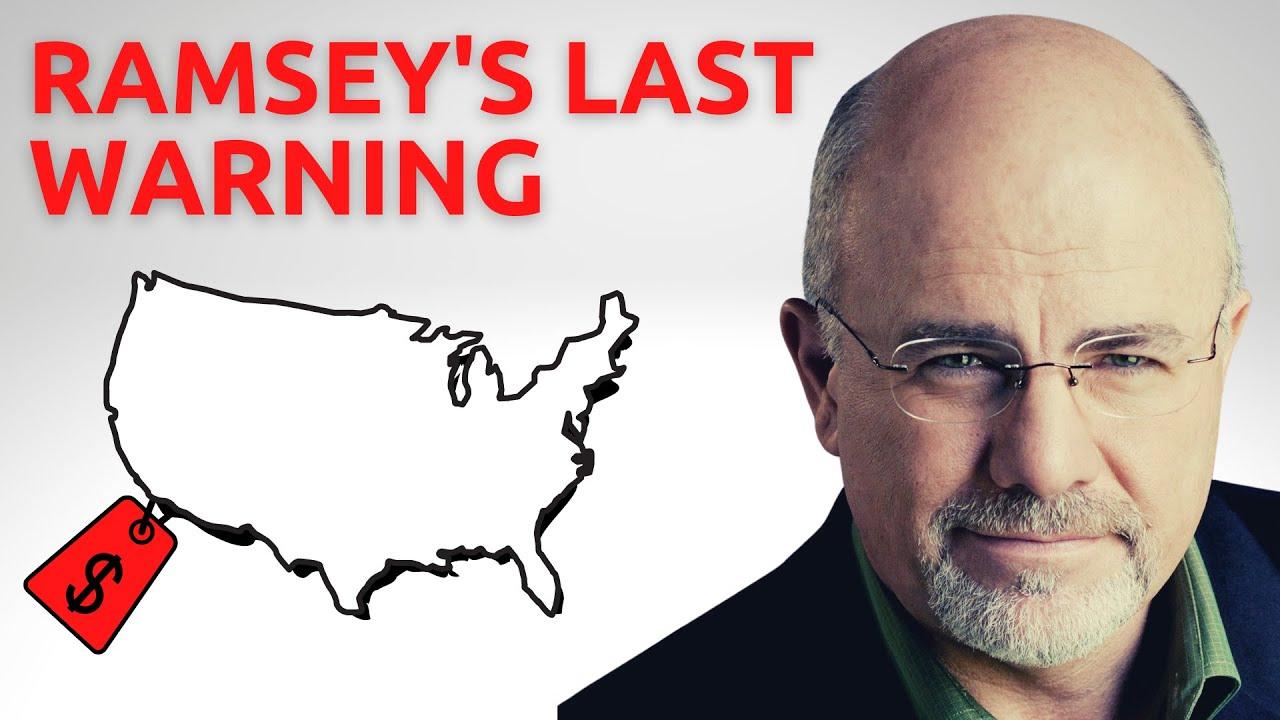 Dave Ramsey LOSES 1 MILLION OVERNIGHT Property Market Crash