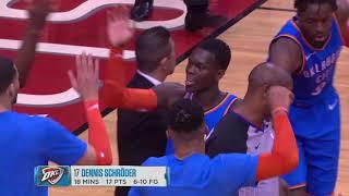 Oklahoma City Thunder Vs Houston Rockets | February 9, 2019