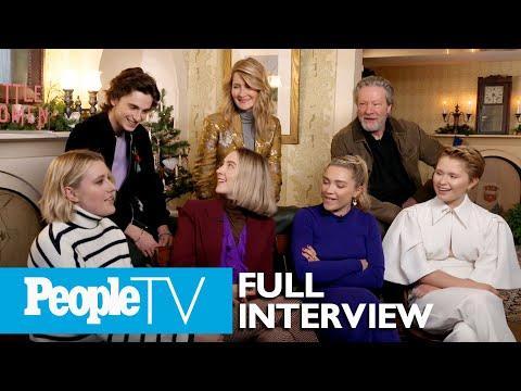 Little Women's Saoirse Ronan, Timothee Chalamet, Director Greta Gerwig & More Tell All | PeopleTV