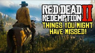 Red Dead Redemption 2: 8 Things You Might Have Missed From Trailer 2
