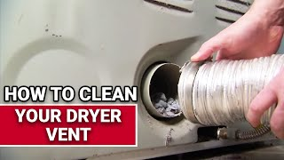 How To Clean Your Dryer Vent - Ace Hardware