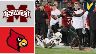 Mississippi State Vs Louisville Highlights | 2019 Music City Bowl Highlights | College Football 1